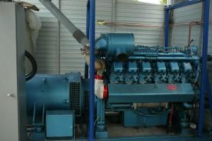 générateur de secours pour datacenter