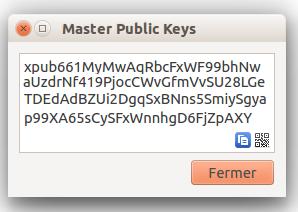 electrum clé publique