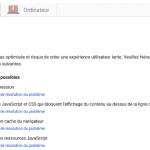 Le site qui va marcher: optimisation d'une page clé